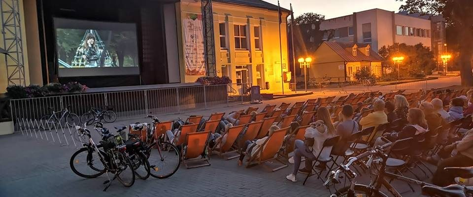 Cinema under the sky Druskininkai